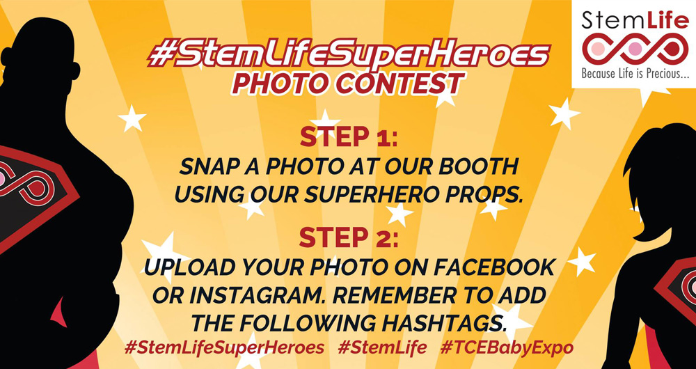 STEMLIFE Superheroes Photo Contest