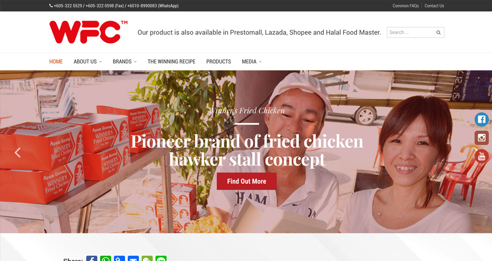 Winner Foods Consolidated by Prolific Scope Sdn Bhd