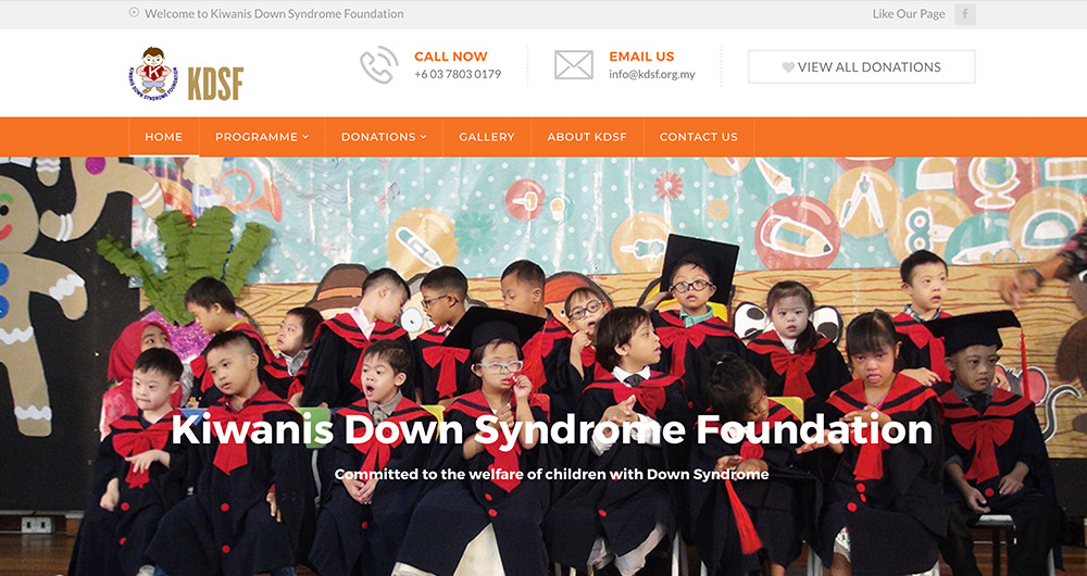 Kiwanis Down Syndrome Foundation (KDSF) by Prolific Scope Sdn Bhd