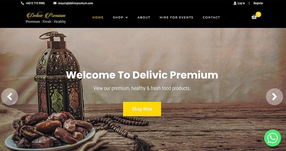 Delivicpremium.com by Prolific Scope Sdn Bhd